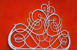 Ковка кровати, дизайн Lipparini