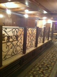 "Ковка для бара ""IN BAR"" при гостинице Интурист, г.Краснодар"