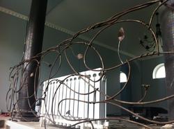 """Кованые ворота и кованые перила для гостиницы """"Lime"""", г.Краснодар"""