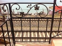 """Кованые балконы и перила для гостиницы """"Афродита"""", п.Адлер"""