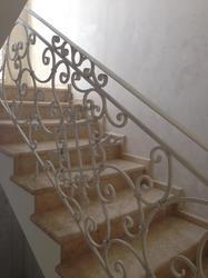 Кованые ограждения для лестницы