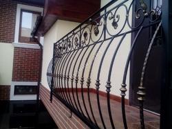 Винтовые перила для лестницы