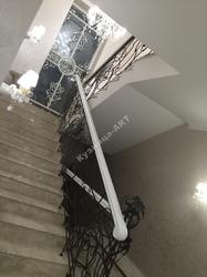 Эксклюзивные кованые перила для лестницы