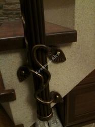 Перила для лестницы с боковым креплением