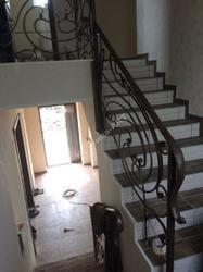Кованые перила для лестницы по эскизу