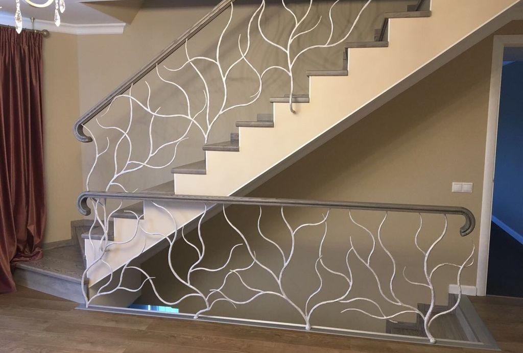Перила для лестницы Кованые деревья