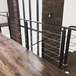 Перила для лестницы в стиле Лофт