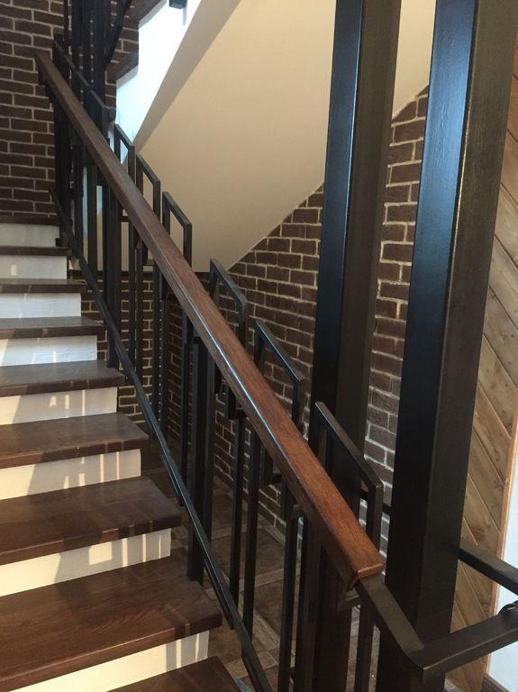 Перила для лестницы Лофт