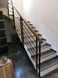 Сварные перила для лестницы