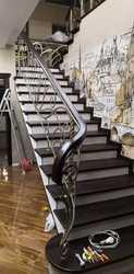 Кованые перила для балюстрады и лестницы