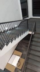 Ограждение из балясин для лестницы