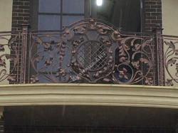 Эксклюзивный кованый балкон ручной работы