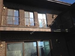 "Кованый балкон в стиле ""модерн"""