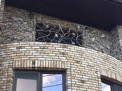 "Кованый балкон ""Лоза"""