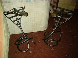 """Кованый стул """"Кобра"""""""