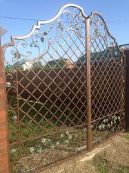 Кованые ворота по эскизу Arteferro