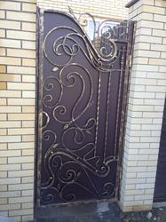 Ажурные кованые ворота