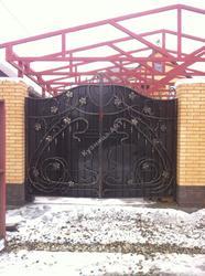 """Кованые ворота с """"Лозой"""""""