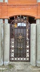 Ворота и калитка по эскизу